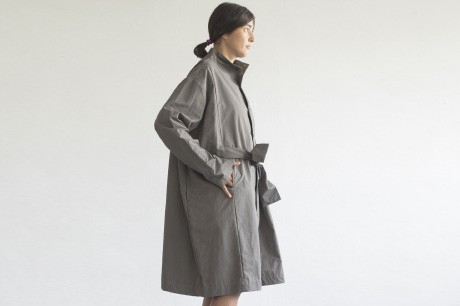 Grey Box Coat