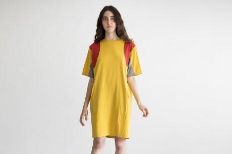 Yellow Collage Dress