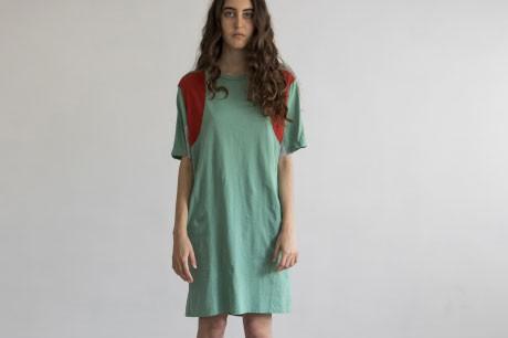 Mint Collage Dress