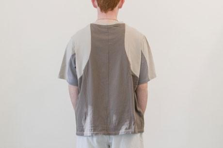 Light Grey Collage T Shirt